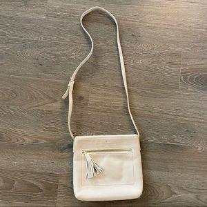 Kate Spade top zip leather crossbody bag